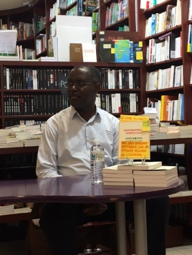 Louis-Philippe Dalembert, Librairie Le Point de Côté (Suresnes) photo www.booksmoodsandmore.com
