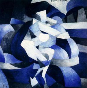 Figure Triste (Francis Picabia, 1912)