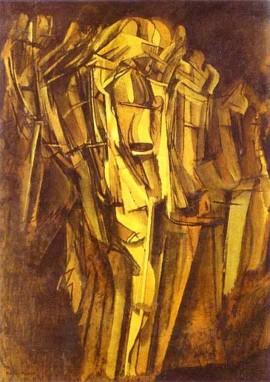 Jeune homme triste dans un train (Marcel Duchamp, 1911)