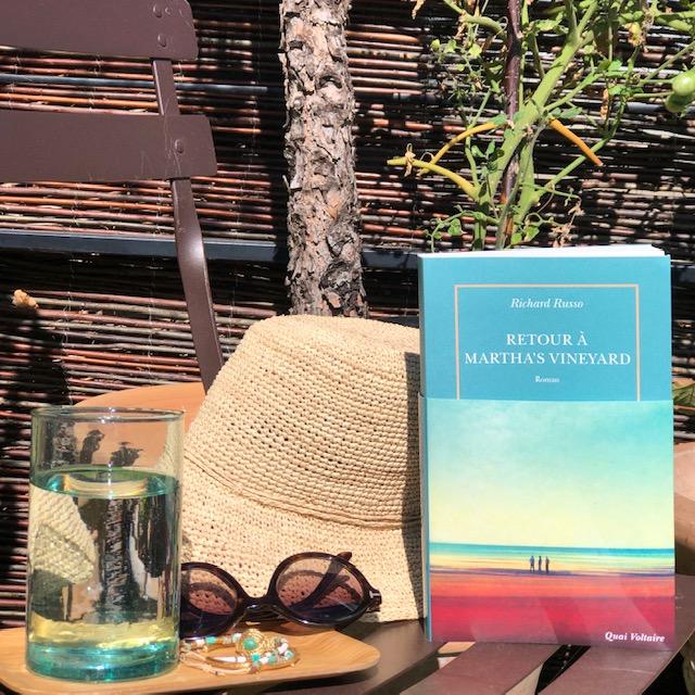Retour à Martha's Vineyard de Richard Russo Editions de la Table Ronde