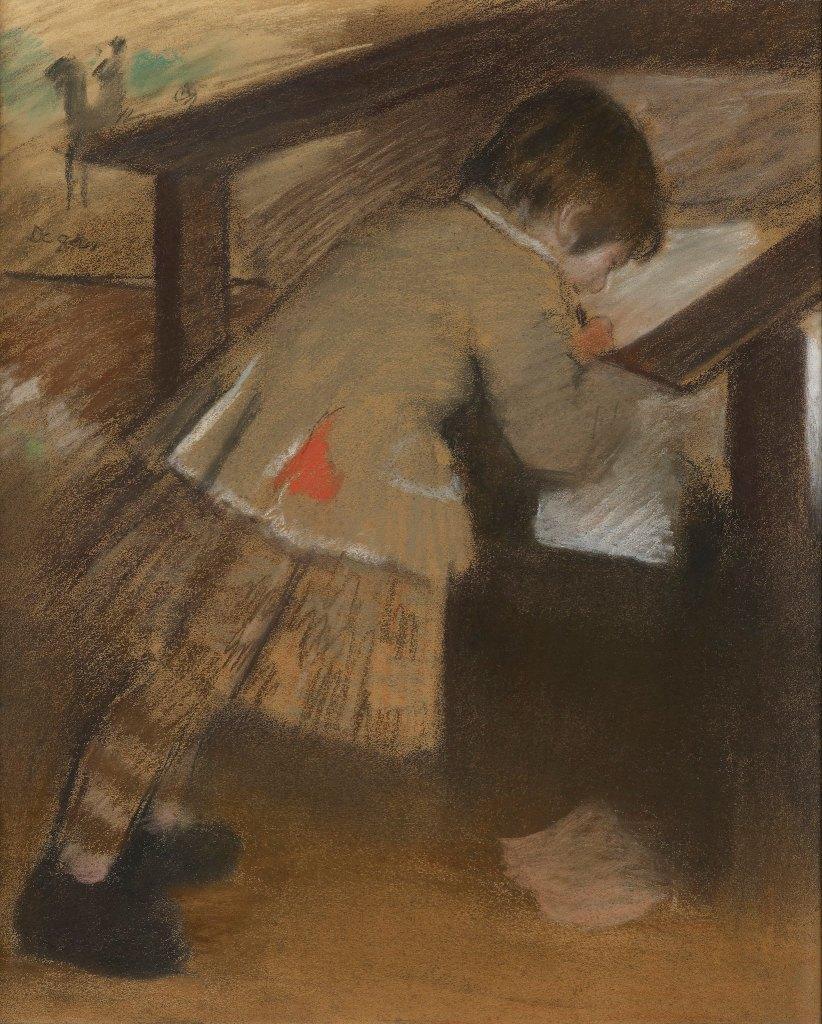 Jacques de Nittis enfant, Degas