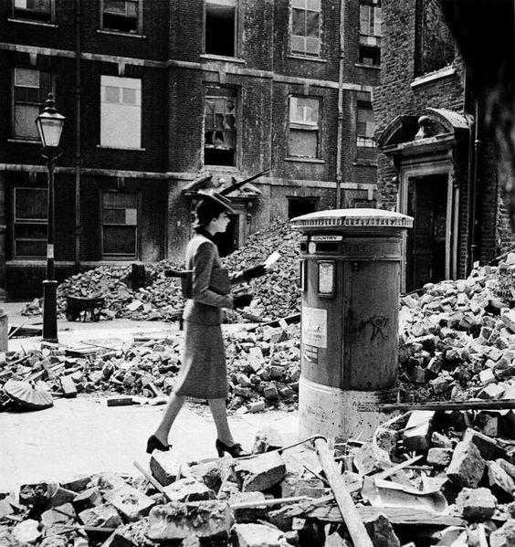 """""""the letter"""" de Cecil Beaton Londres 1940"""