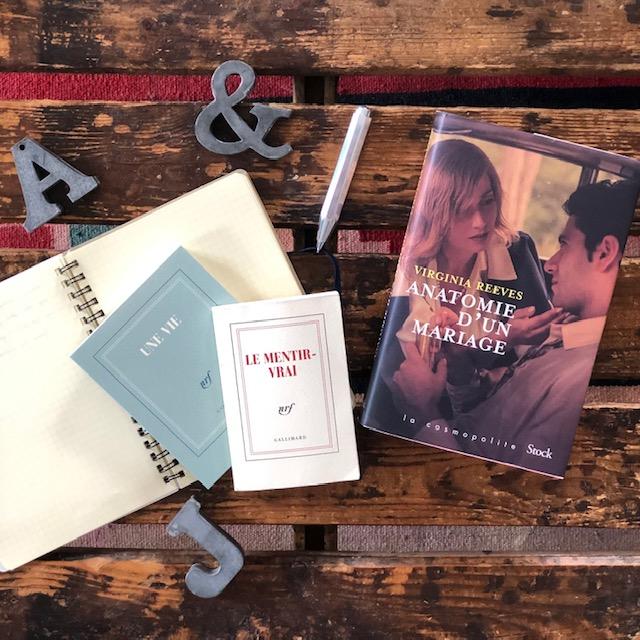 Anatomie d'un mariage de Virginia Reeves éditions Stock