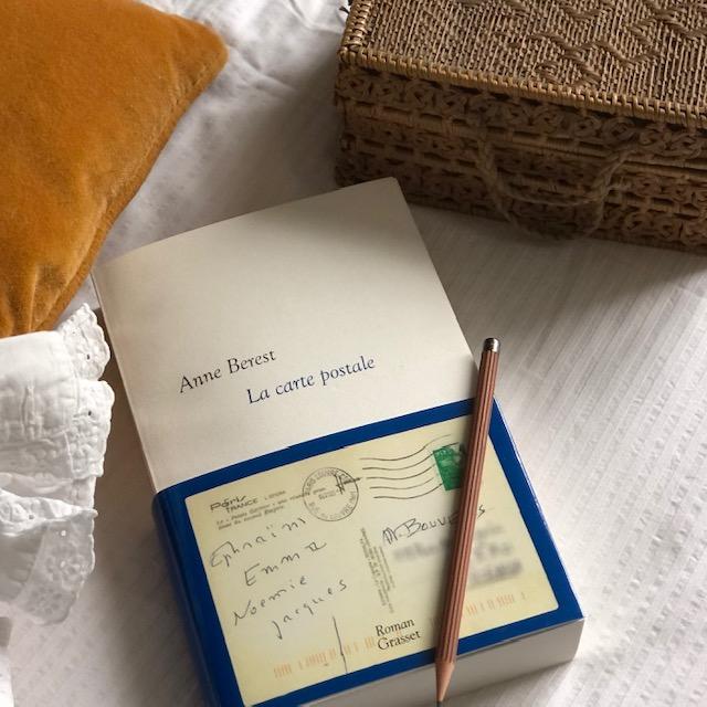 Anne Berest La carte postale Grasset